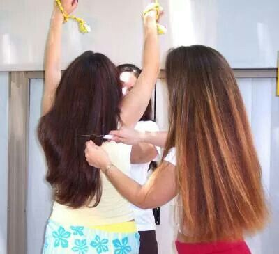 137 best images about long hair shearing on pinterest