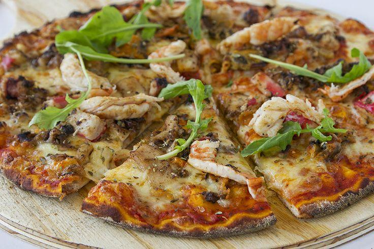 Seafood Pizza Rossa CRAFT Restaurant Parkhurst