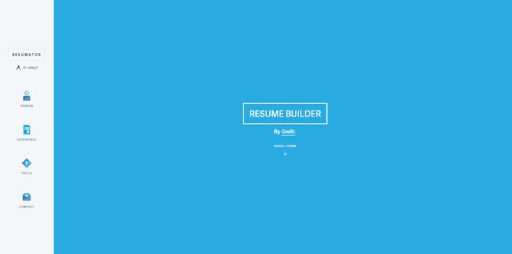 Resume Builder – A very useful and well-made resume builder by QWILR.