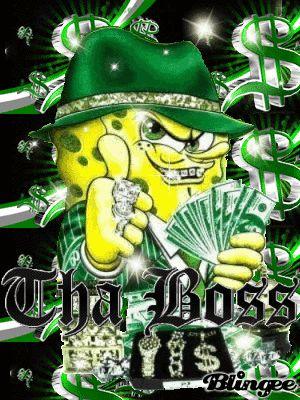 Cool 3d Skull Wallpapers Ghetto Spongebob Gangsta Random Stuff Pinterest