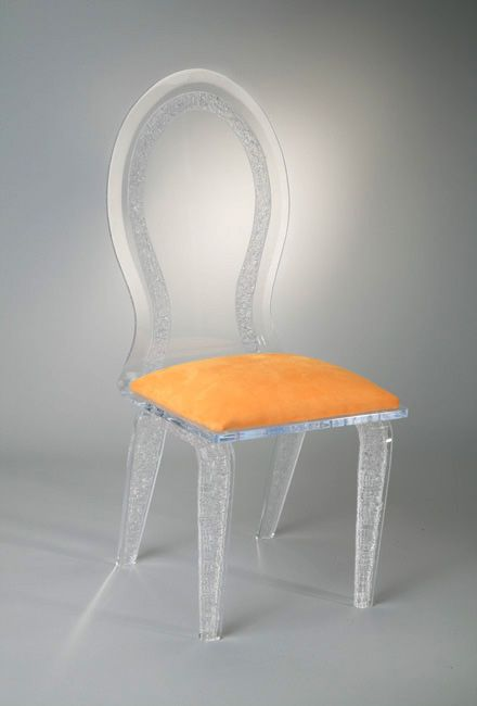 Lucite Chair From Muniz Plastics Available In Different Colors And Styles.  Order Your Custom Acrylic
