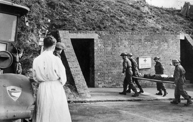 Wartime Tunnels Uncovered Exhibition | English Heritage: my Nana escaped during WWII as a little girl from England. Hope to see the land with my own eyes some day.