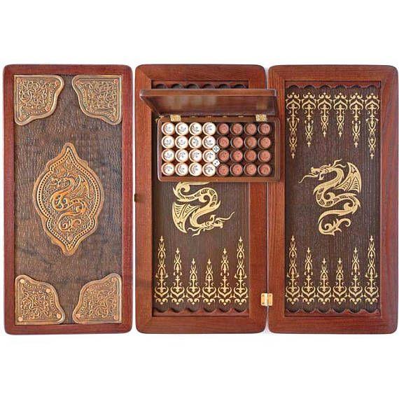 Backgammon+board+handmade+Backgammon+set+Backgammon+table
