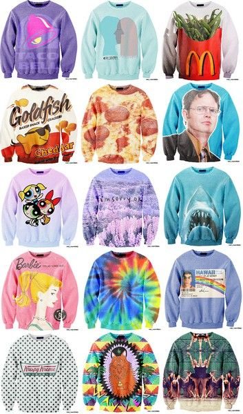 With love to pop culture: cool and creative sweaters Sexy Sweaters › CuteDecision