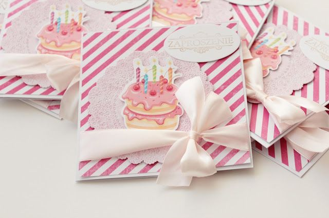 Zaproszenia na urodzinki