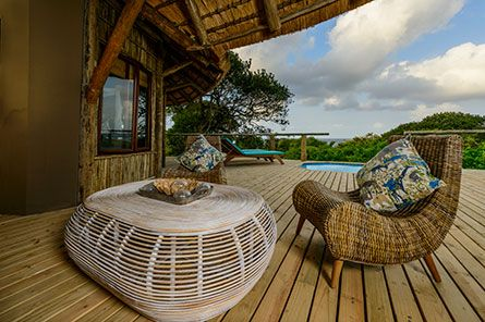 Thonga Beach Lodge Deck