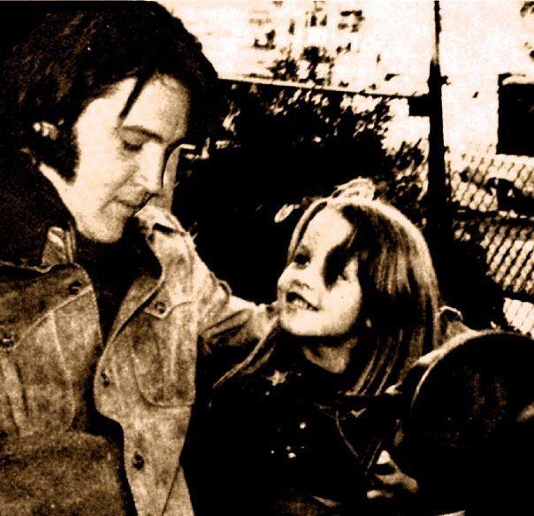Elvis and Lisa Marie..