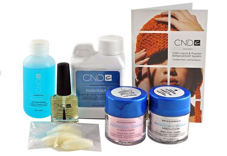 CND Moxie Liquido y Polvo de Retención para hacer uñas acrílicas | Decoración de Uñas - Nail Art - Uñas decoradas
