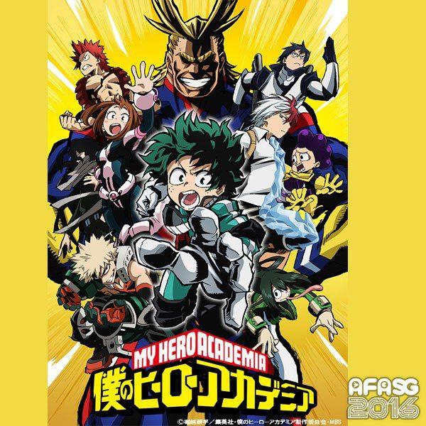 AFASG16: Feature Anime: Boku no Hero Academia ( My Hero Academia) - http://wowjapan.asia/2016/11/afasg16-feature-anime-boku-no-hero-academia-hero-academia/