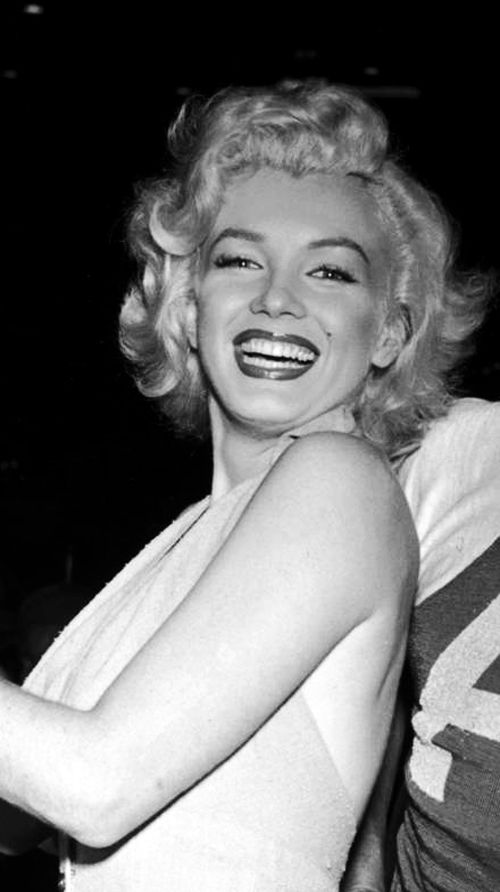 Marilyn at the Out Of This World Series Charity Baseball Game at Gilmore Field Stadium, September 15th 1952.