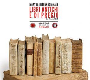 Mostra internazionale Libri antichi e di pregio a Milano | Salone dei tessuti, Milano 24-26 marzo
