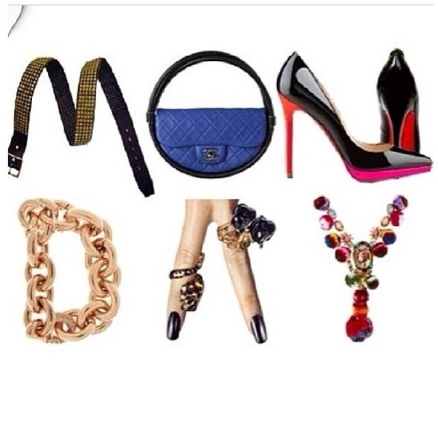 #HappyMonday! We're ready for a week filled with #fashion! xo
