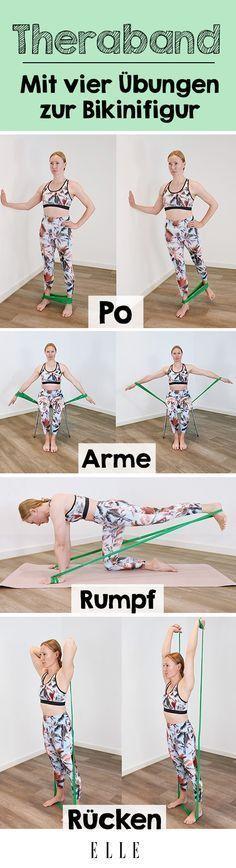 Diese Theraband-Übungen werden deinen Körper komplett verändern – Nina Hune