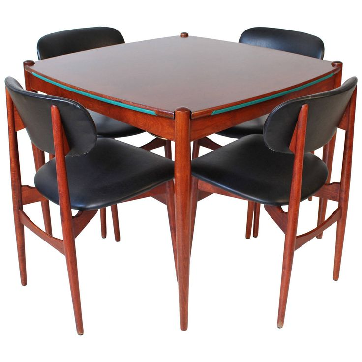 Italian Mid-Century Modern Game Table by Gio Ponti | From a unique collection of antique and modern game tables at https://www.1stdibs.com/furniture/tables/game-tables/