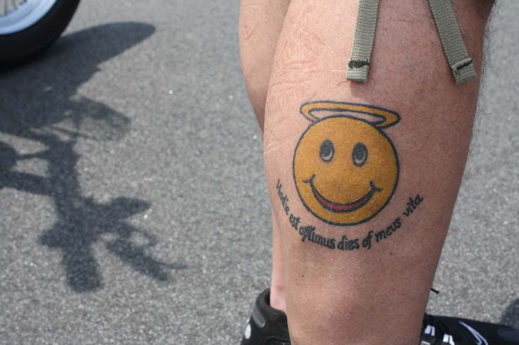 Smiley Face Tattoo Designs | smiley face tattoo designs