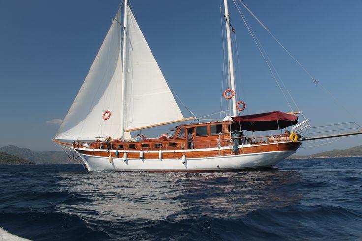 Gunay 1 Sailing Gocek 12 Islands Gocek Turkey