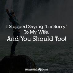 I Stopped Saying
