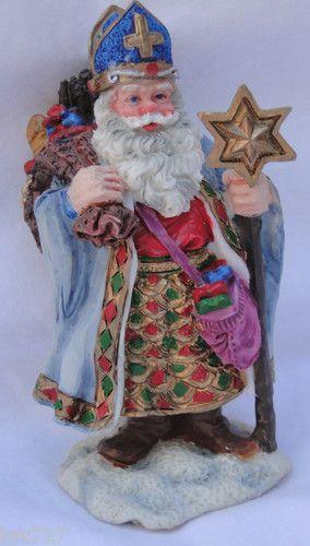 Vintage santa figurine polish of the world roman inc love