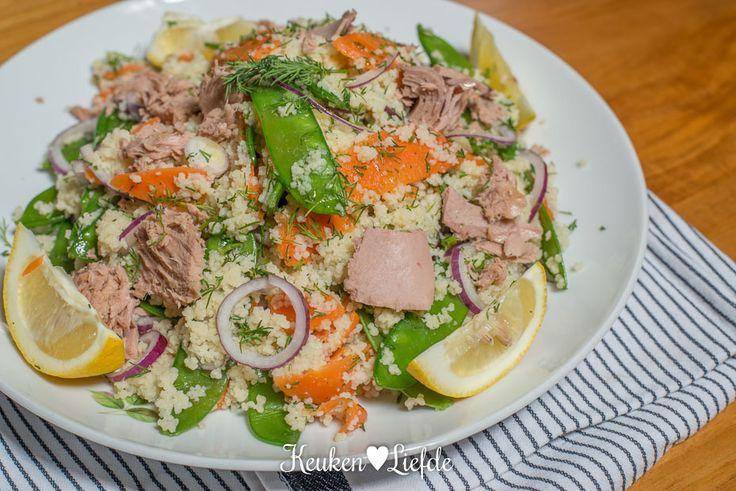 Lekker Snel: couscoussalade met tonijn - Keuken♥Liefde