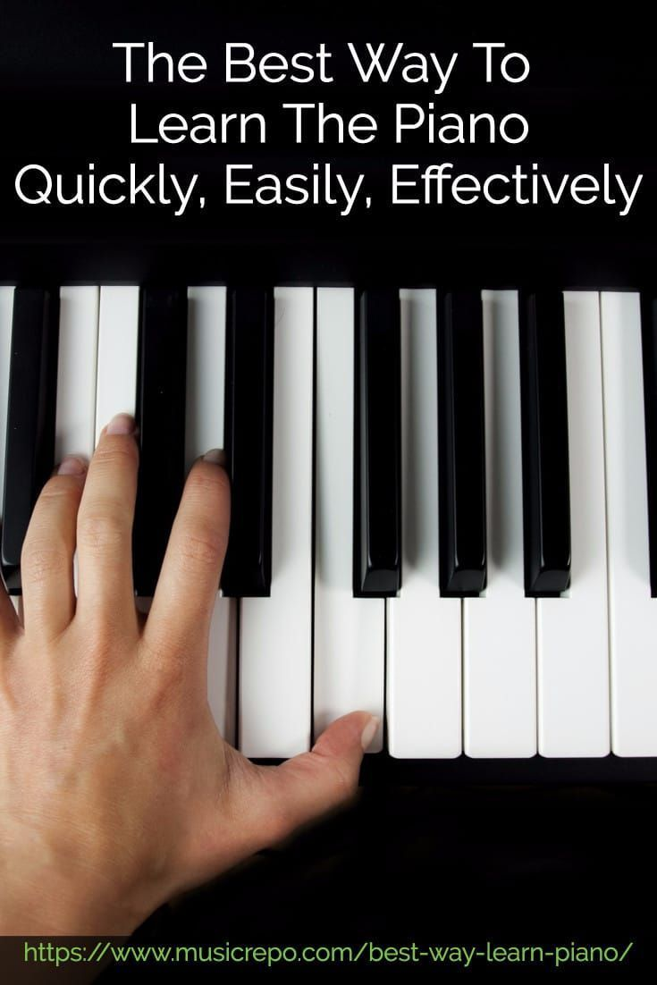 discover the best ways to learn to play the #piano quickly and
