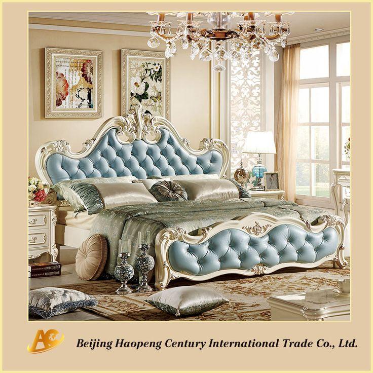 프랑스 스타일의 럭셔리 우아한 최신 침대 프레임 가구 디자인 - 침대 디자인, 최신 침대 디자인을 주문, 최신 침대 프레임 가구 제품 Alibaba.com에 디자인