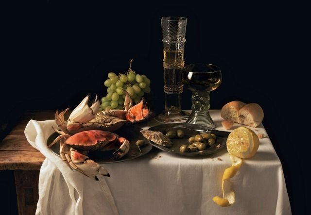 Paulette Tavormina, 'Crabs and Lemon, after P.C., from the series Natura Morta,' 2009, Robert Klein Gallery