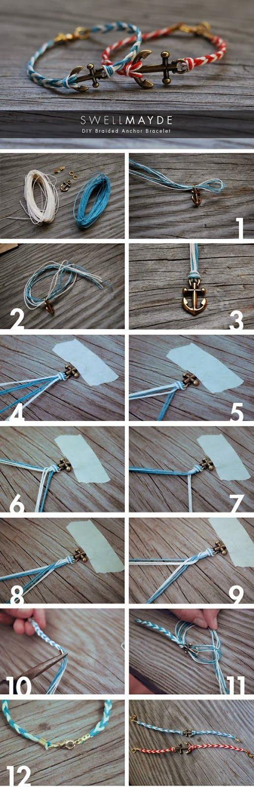 diy bracelet - more inspiration and free tutorials on the blog ...