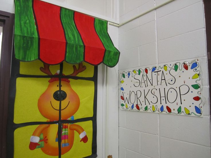 Santa 39 s workshop bulletin board ideas pinterest Cubicle bulletin board ideas