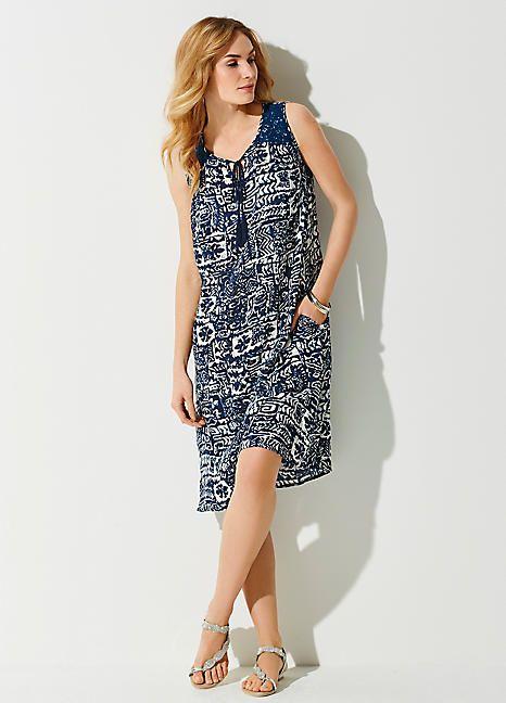 36cc4920be Crinkle A-Line Dress