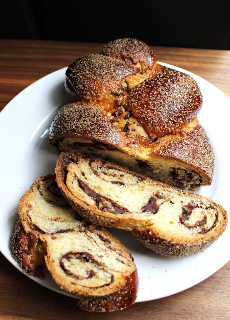 # Babkallah : le nouveau cronut ? (Brioche tressée au chocolat et à la cannelle)