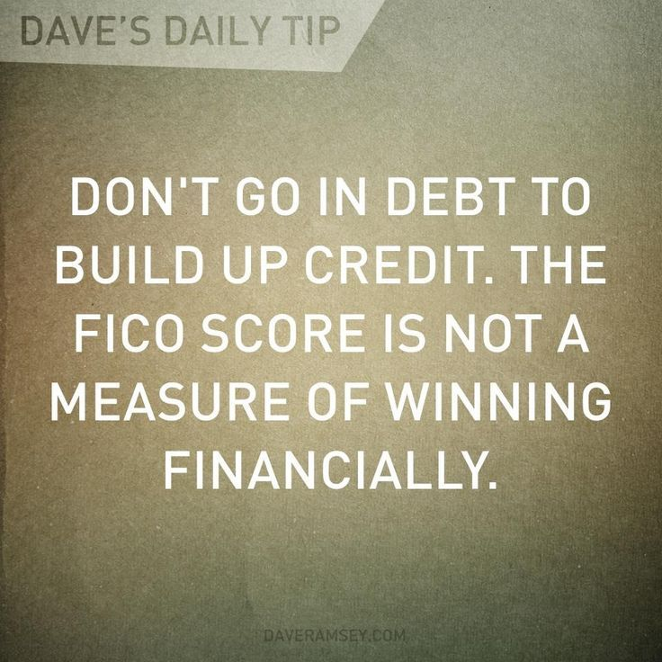 how to build up credit