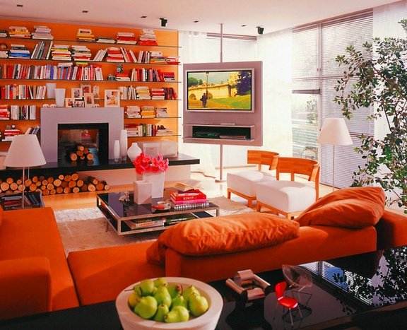 15 besten Wohnzimmer Bilder auf Pinterest Einrichtung, Frisch - grose wohnzimmer uhren