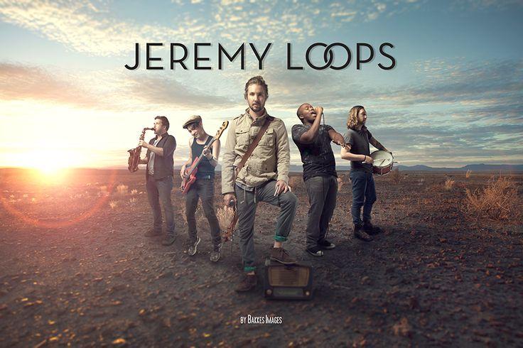 Jeremy Loops at Bakkes Images Studios 2015.