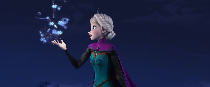 "We're listening to this on repeat over here. Love it! :: Disney's Frozen ""Let It Go"" Sequence Performed by Idina Menzel"