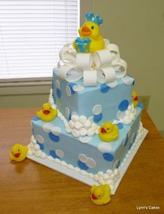duck baby shower cakes for girls - Google Search