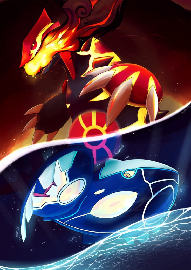 Pokemon kyogre wallpapers 107 wallpapers art wallpapers - Pictures of groudon and kyogre ...