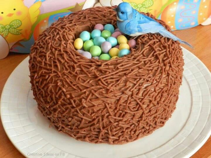 I don't very like this Bird nest cake but it's nice