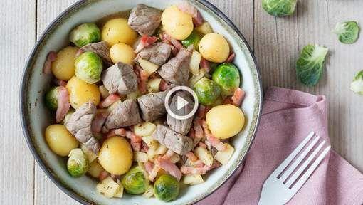 Alles in dezelfde pan? Lekker makkelijk. Een recept met seizoensgroenten? Dus we zijn verantwoord en gezond bezig. Eenvoudige ingrediënten? Wel zo ...