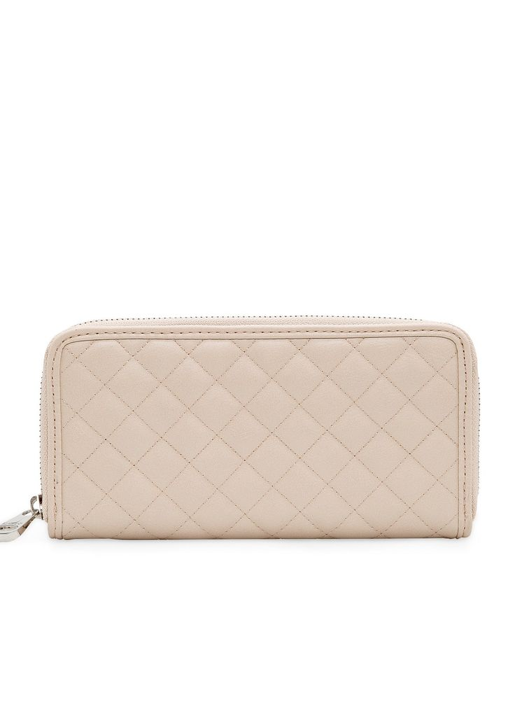 MANGO Quilted wallet