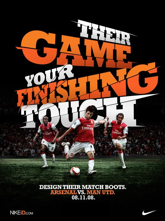Their Game Your Finishing Touch / 2009 on the Behance Network