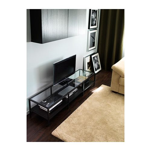 ikea vittsjo tv bench for a coffee table furnishings that flourish pinterest tv units. Black Bedroom Furniture Sets. Home Design Ideas