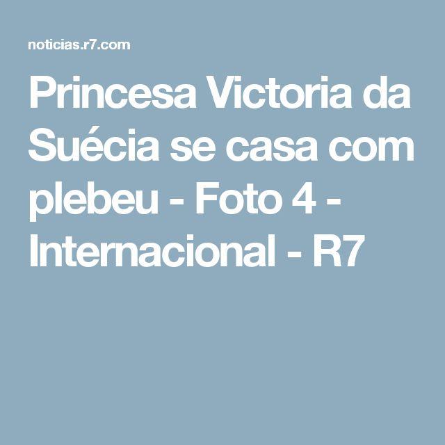 Princesa Victoria da Suécia se casa com plebeu - Foto 4 - Internacional - R7