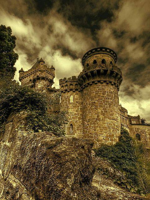 Löwenburg Castle, Germany. My fairy tale castle by Harpagornis ~away~, via Flickr