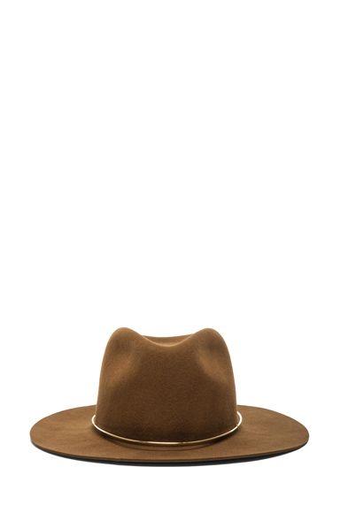 Janessa Leone|Savoy Hat in Whisky
