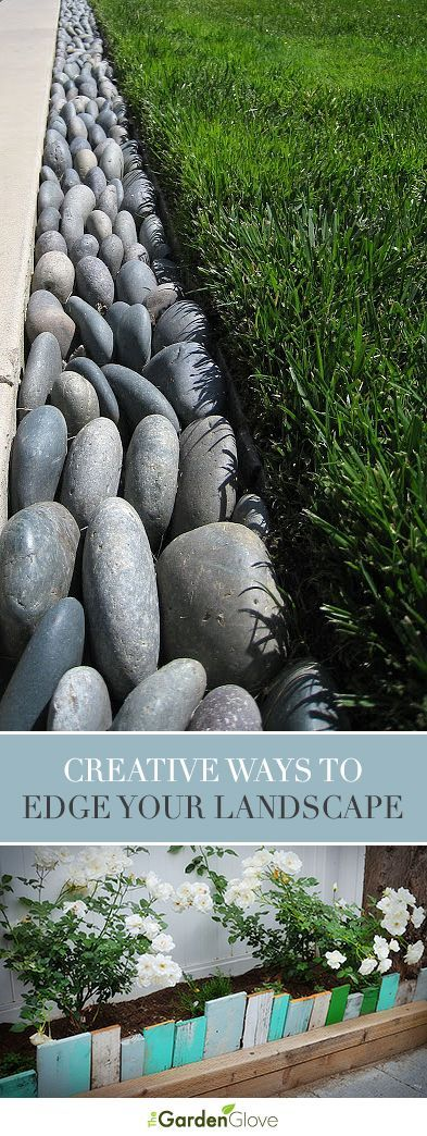 Creative Ways to Edge Your Landscape • Tips & ideas!