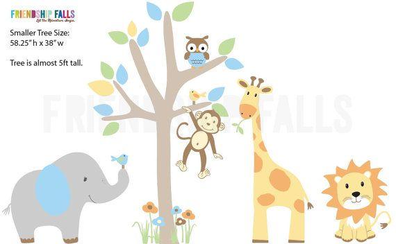 groß ist! Kinderzimmer Wand Aufkleber, Giraffe, Kinderzimmer Wand