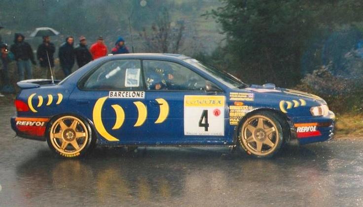 Colin McRae/Derek Ringer - Subaru Impreza 555 [Monte Carlo]