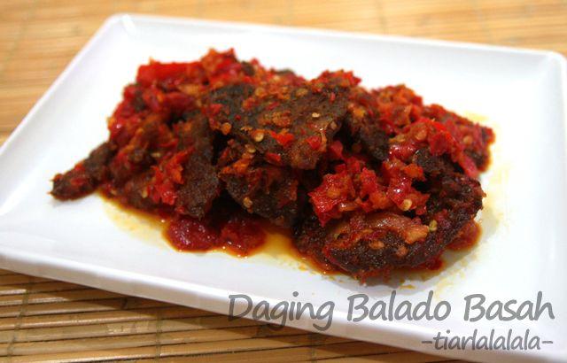 Daging Balado Basah