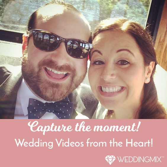Collect all the candid moments your friends film from the whole wedding week into one heartfelt wedding video! Your guests film with the WeddingMix app and rental cameras; we professionally edit your wedding video. You can even include your honeymoon! And it happens to be affordable, too. ;)