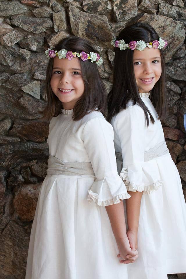 Coronas de flores para niñas de arras. Pajes by Cucullia